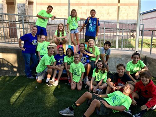 BCE PTO & StuCo Add Friendship Benches to Playgrounds