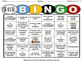 This is a graphic of our BINGO board