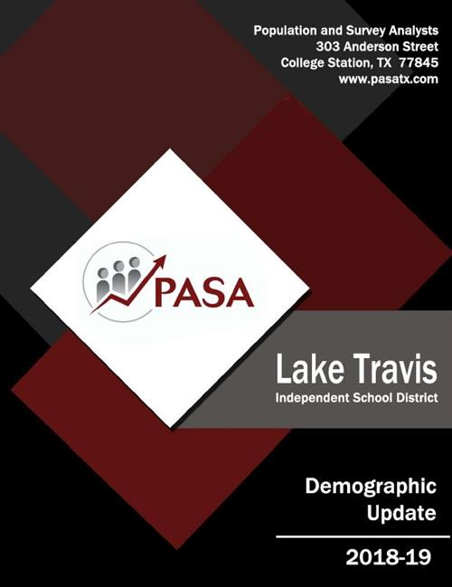 LTISD Demographic Update 2018-19 cover page