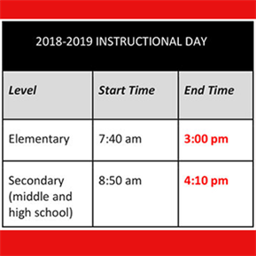 LTISD Adds 5 min to Instructional Day