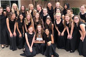 HBMS & LTMS Varsity Choirs receive unanimous 1st Division Ratings