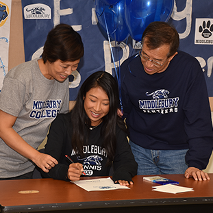 Student-athletes sign letters of intent