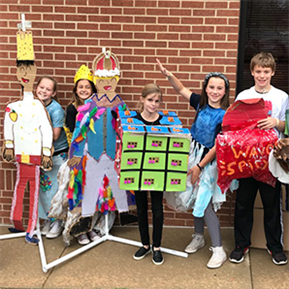 SHE students compete in Destination Imagination