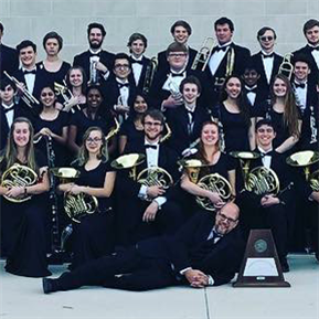 LT Cav Band Wind Ensemble & Symphonic Bands Earn UIL Sweepstakes
