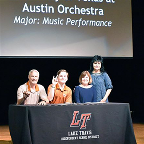 Inaugural LTISD Fine Arts Signing Day