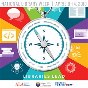 LTISD celebrates National Library Week