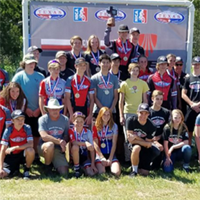 LTHS Mountain Bike Team Named 2018 TX State Champions