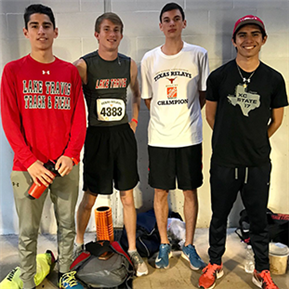 LTHS Track & Field Athletes Compete at Texas Relays