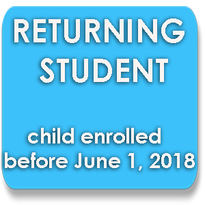 Returning Student Packet button