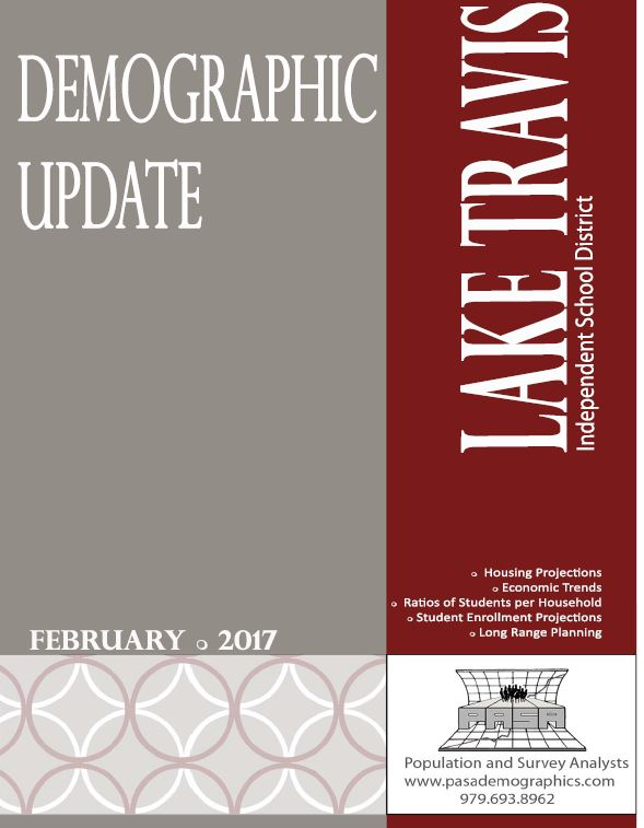 LTISD Demographic Update 2017 cover page