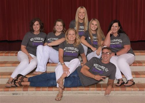 This is a photo of the 2nd grade team.