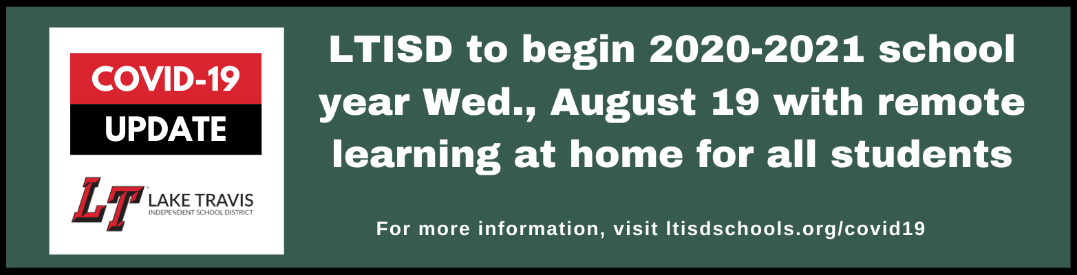 LTISD to begin remote learning at home August 19