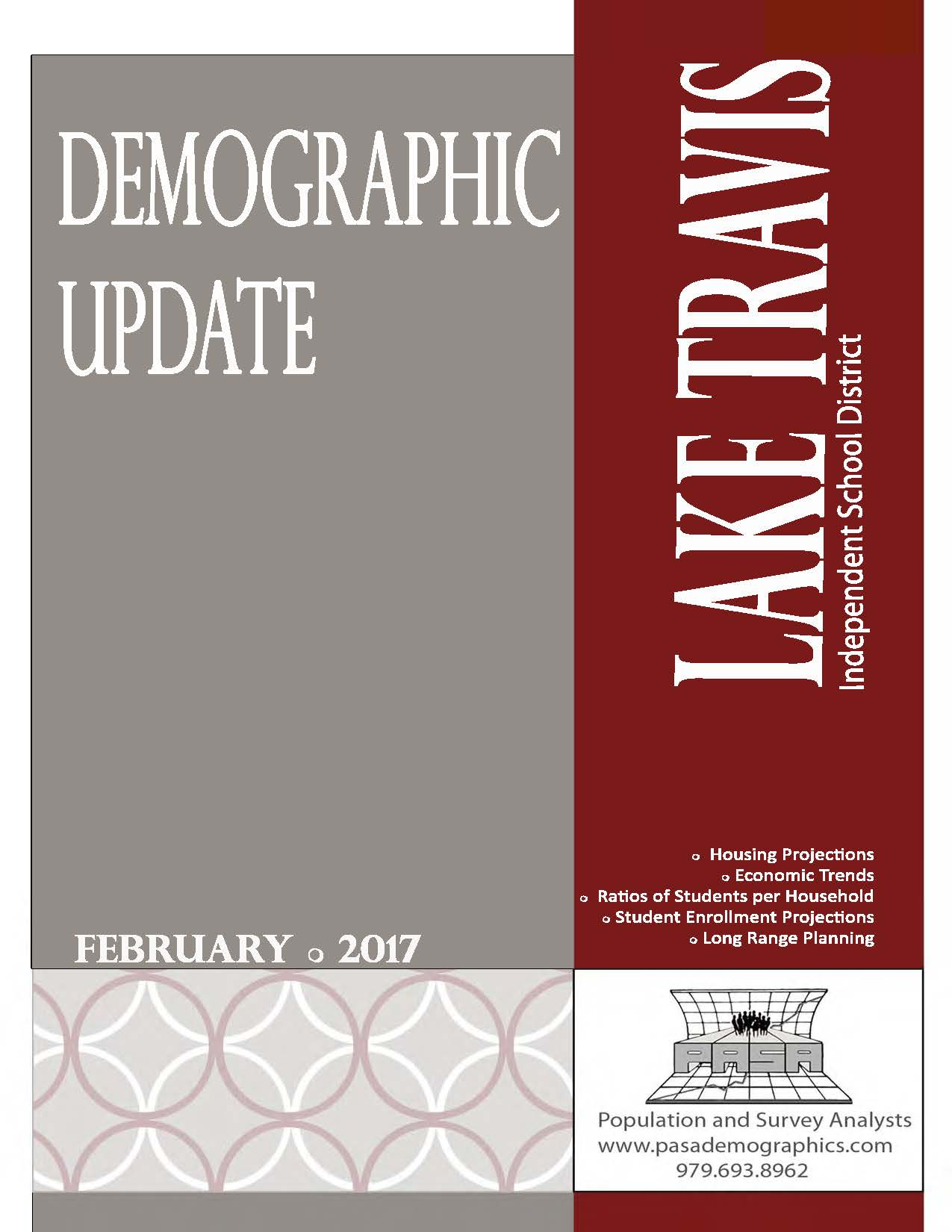 Demographic Update 2017 image
