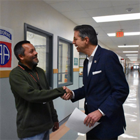 LTISD Employees Surprised with High5 Award