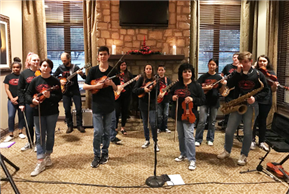 LT Fiddlers Perform at Flintrock Falls