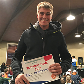 LTHS Student-athlete makes 2018 Tennis Touring Team